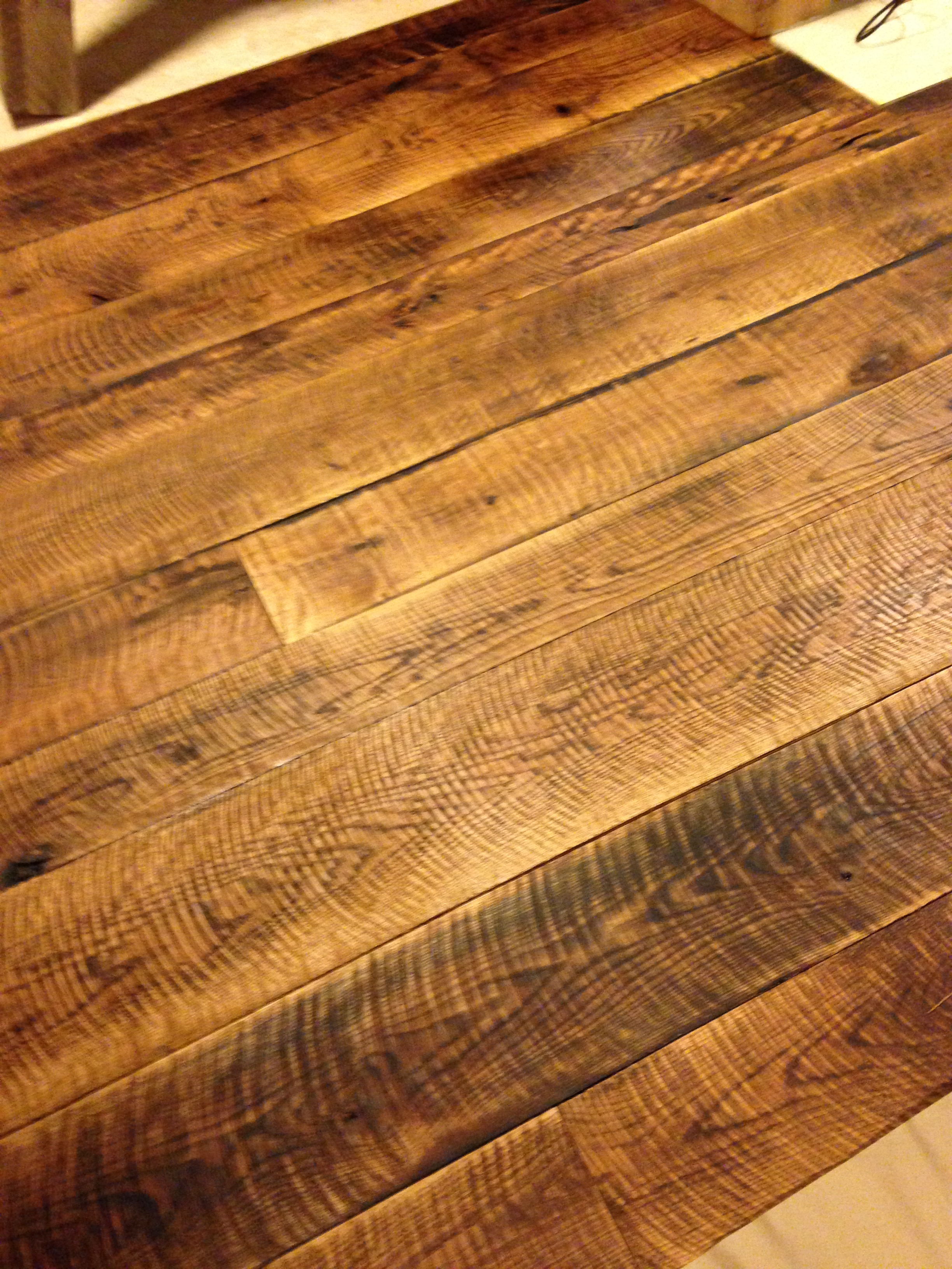 Reclaimed Antique Wide Plank Hardwood Flooring